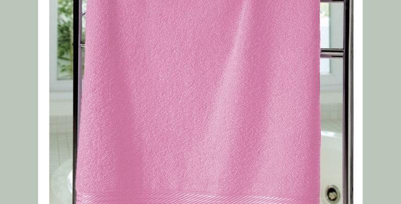 Toalha Banho Felpudo Prisma Liso Rosa | Dohler