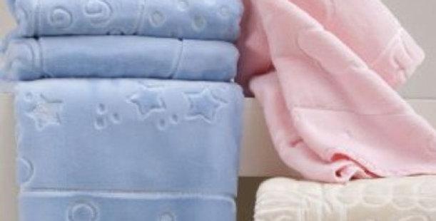 Cobertor Infantil Touch Texture Raschel com Relevo Jolitex