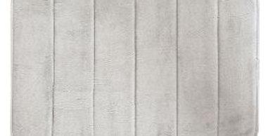 Tapete Super Soft Microfibra Cinza | Camesa