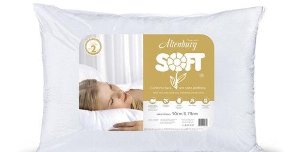 Travesseiro Altenburg Soft - 50 x 70