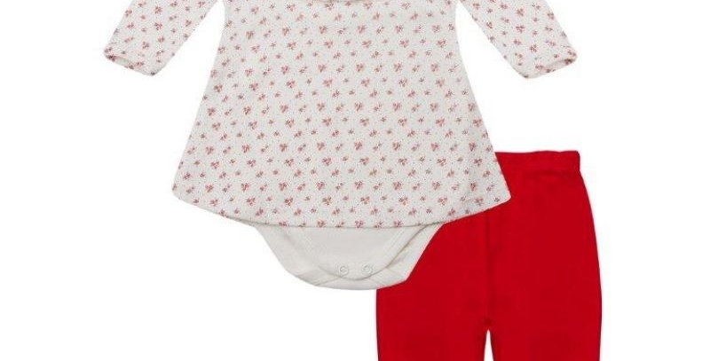 Conjunto Baby Playwear Rosinhas | Piu Piu