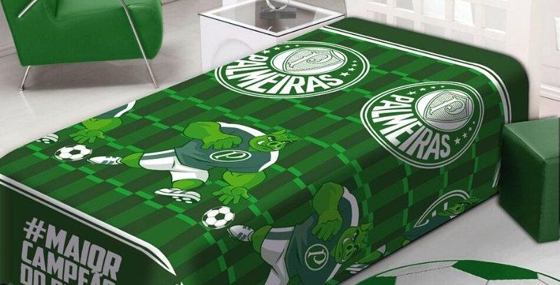 Manta Soft Palmeiras Campeão Solteiro | Jolitex