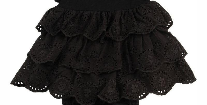 Vestido Laise Preto em Malha | Tip Top