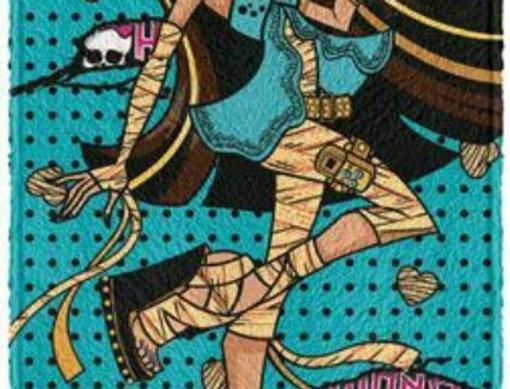Toalha Felpuda Monster High Cleo de Nile  - Lepper