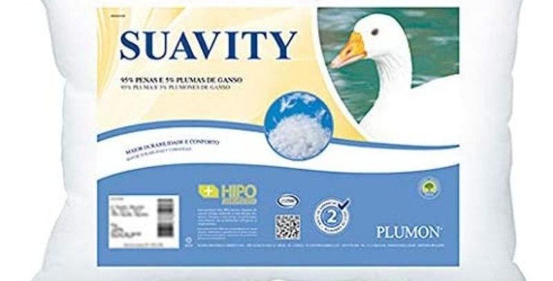 Travesseiro Plumon 95% Penas e 5% Plumas de Ganso | Plooma