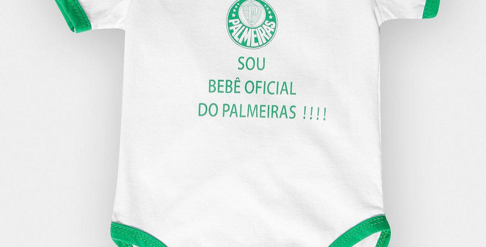Body Palmeiras Bebê Oficial- Reved'or