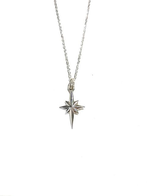 Bethlehem Star Necklace - Small (Sterling Silver)