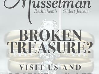 Musselman Jewelers 20% Off Repairs Sale!