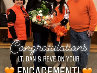 Musselman Jewelers' Daughter Receives Surprise Engagement at Flyers Game from Deployed Boyfriend