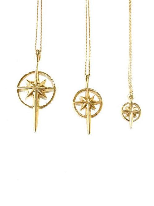 MEDIUM - Bethlehem Star Necklace