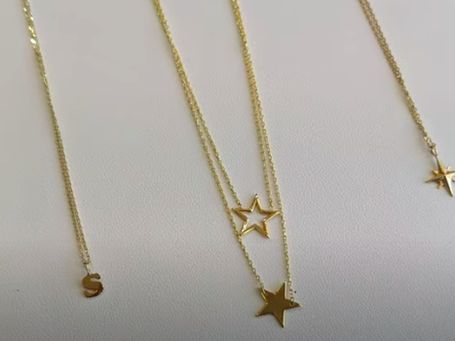 Custom 14k Gold Necklaces