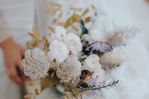 Fleurs pour le mariage d'hiver