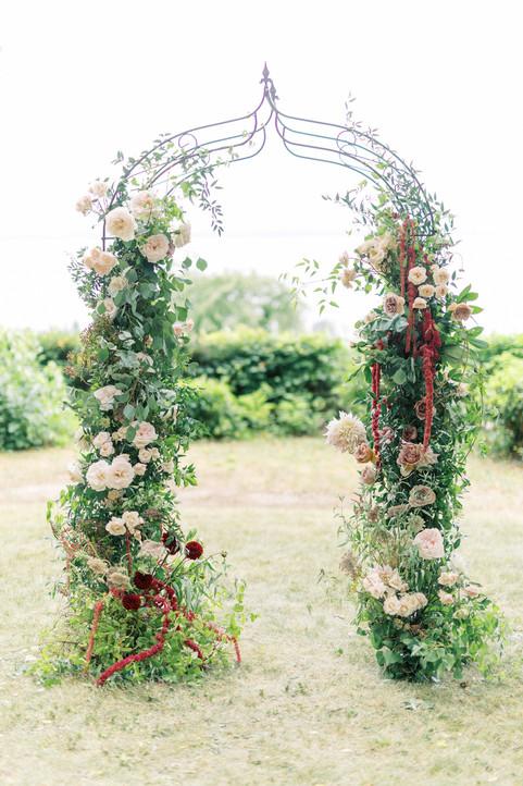 Arche pour le mariage