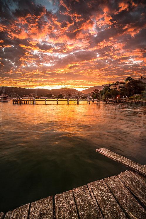 Hobart sunset