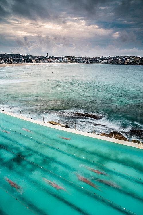 Bondi Iceberg ghost swimmers