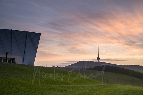 Margaret and Telstra tower