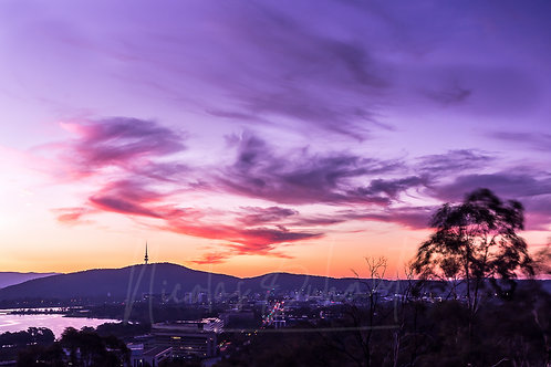 Mount Pleasant sunset