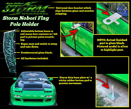 Storm Nobori Flag Pole Holder