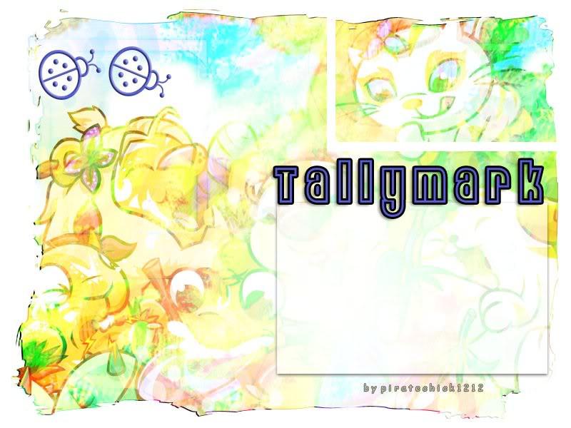 Childhood Design - Tally Mark