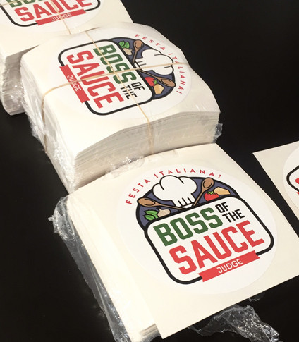 Boss of the Sauce Stickers