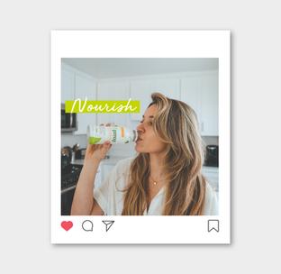 ClearFast Instagram - Nourish