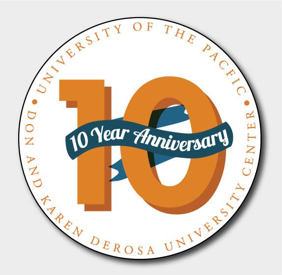 UOP DUC 10 Year Logo