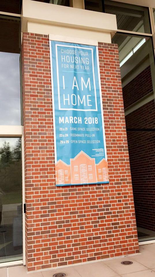I Am Home Banner