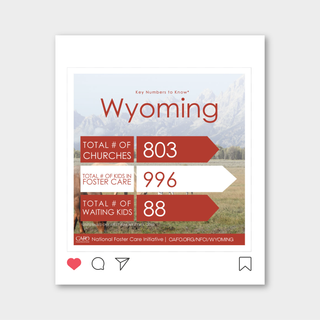 Orphan Sunday Wyoming Statistics