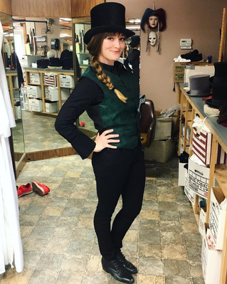 Green Vests and Top Hats and Boots, oh my!