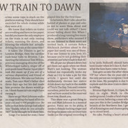 The Slow Train To Dawn