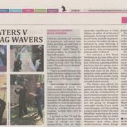 Haters v Flagwavers