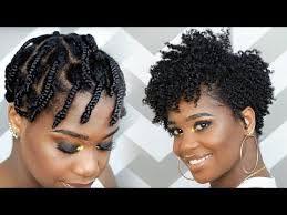 Twist/braid Out natural hair