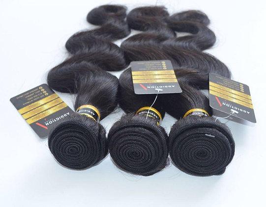 Addiction Hair 3 Bundles Brazilian Body Wave 100% Virgin Human Hair