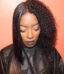 Silk Press on natural hair incl. Wash