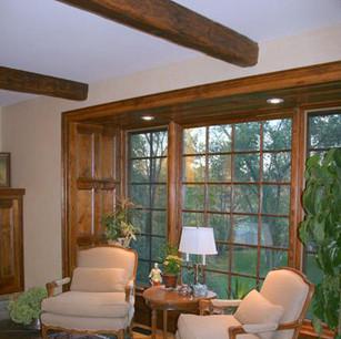 Beam Ceilig and Window Surround