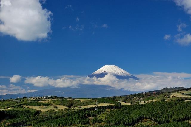 ネオ・リゾートホーム遊方YUKATA 伊豆スカイラインより見える富士山