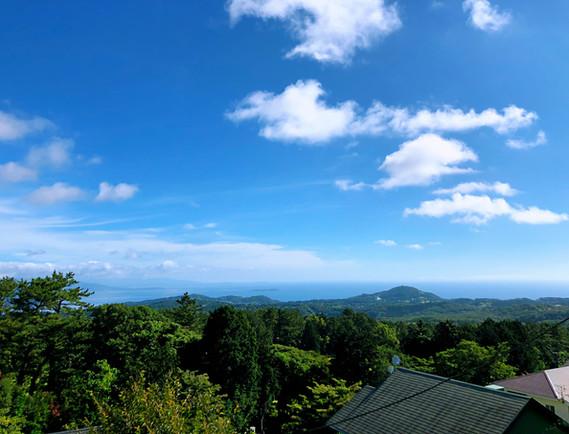 ベランダ風景@ネオ・リゾートホーム遊方YUKATA