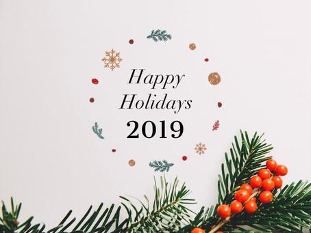 遊方より新年2019のお祝い