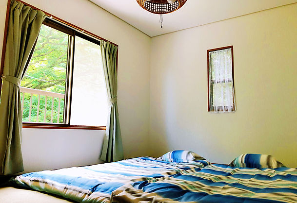 和風のベットルーム−ネオ・リゾートホーム「遊方」