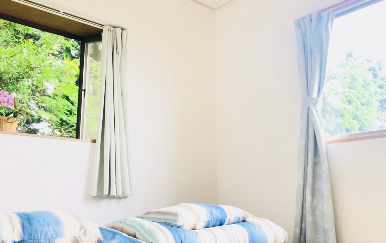 2楼卧室观海@遊方貸別荘・伊豆高原