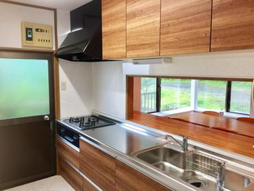 別荘の貸切 伊豆高原 海一望 ネオ・リゾートホーム遊方YUKATA  キッチン