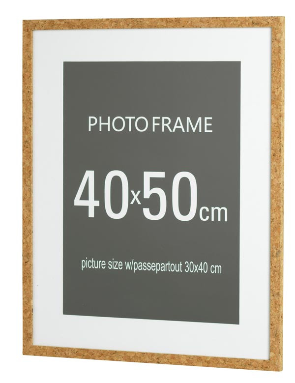 fotoram 40x50 kork rusta