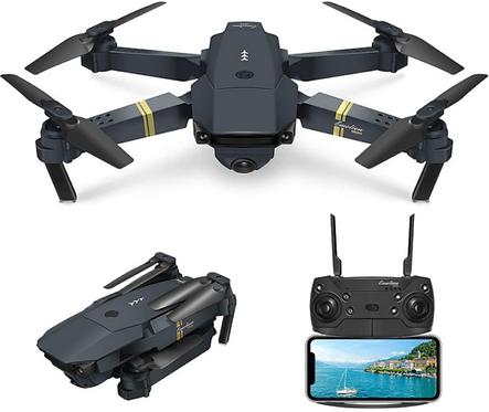 Drone con telecomando e telecamera HD