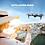 Thumbnail: Drone con telecomando e telecamera HD