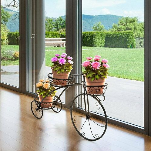 Portafiori Bicicletta shabby decorativa giardino