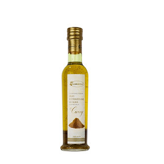Evo oil flavoured with curry – bottle format