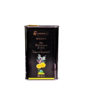 Evo oil flavoured with Sorrento lemons – tin format