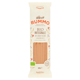 Linguine organic whole wheat pasta - Pastificio Rummo