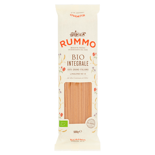 Linguine organic whole wheat pasta - Pastificio Rummo