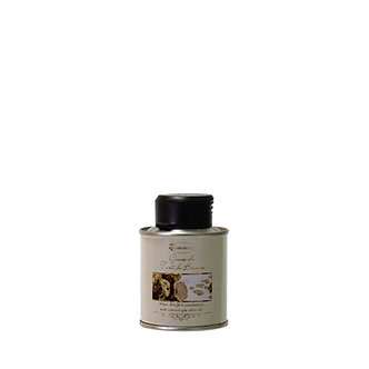 Evo oil flavoured with white truffle – tin format